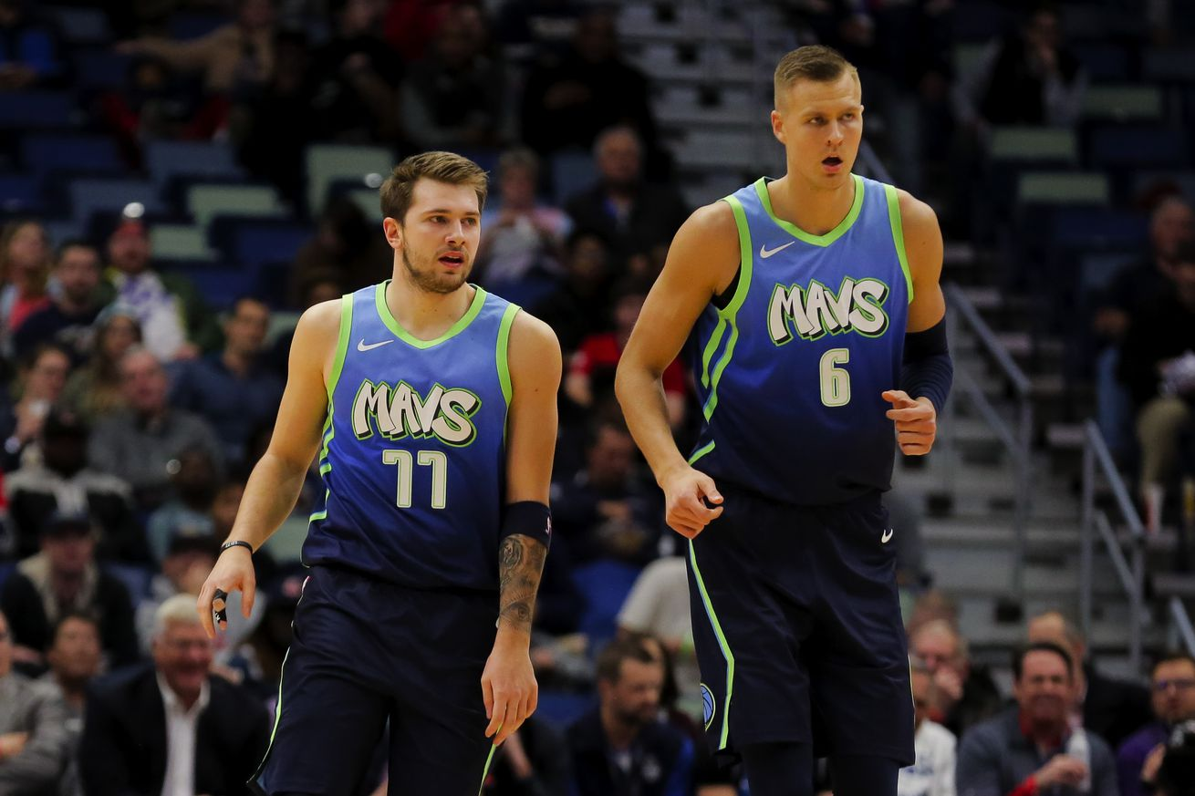 Kristaps Porzingis and Luka Doncic are on the verge of a breakthrough