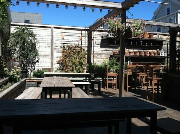 The Atwood's Tavern patio