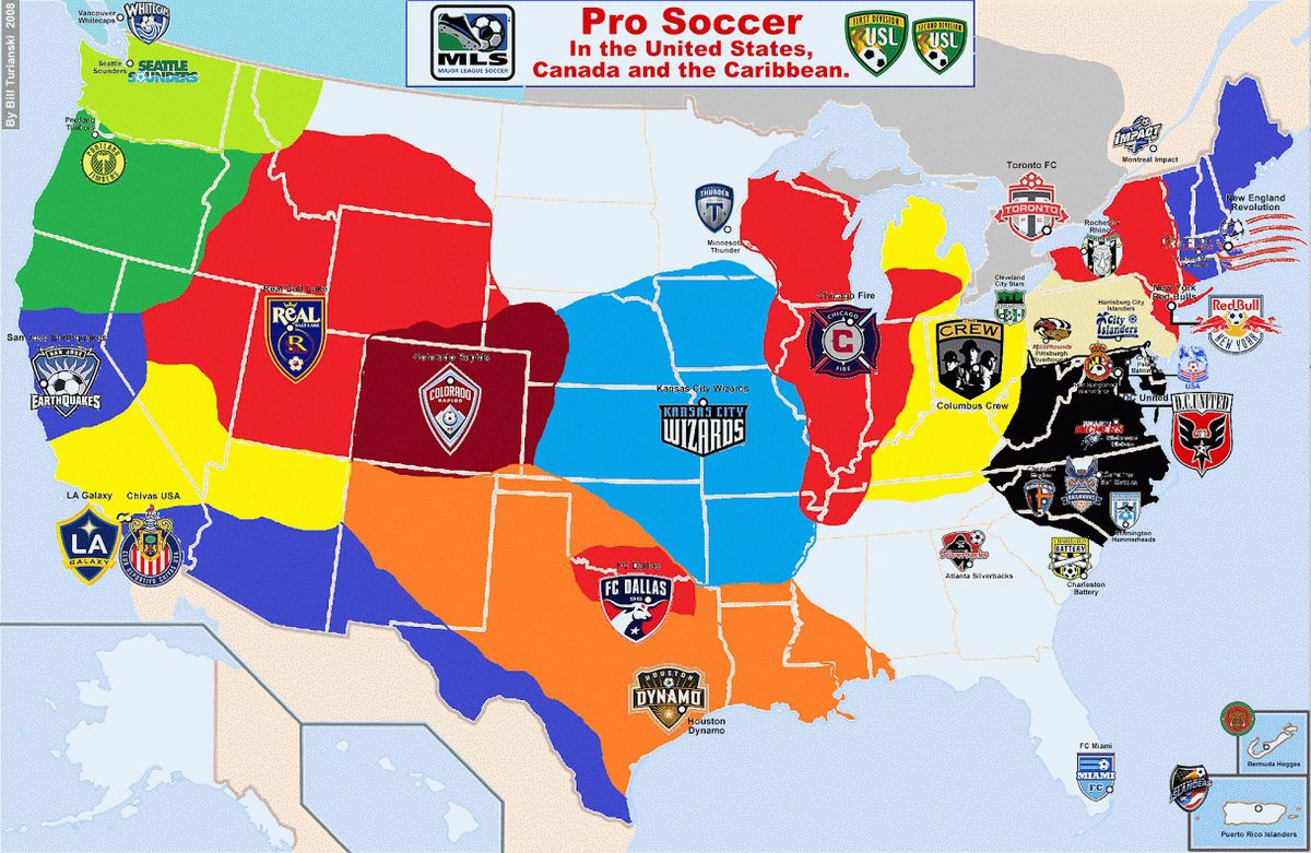 pro soccer map