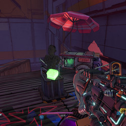 Pieces of Resistance location in Impound Deluxe