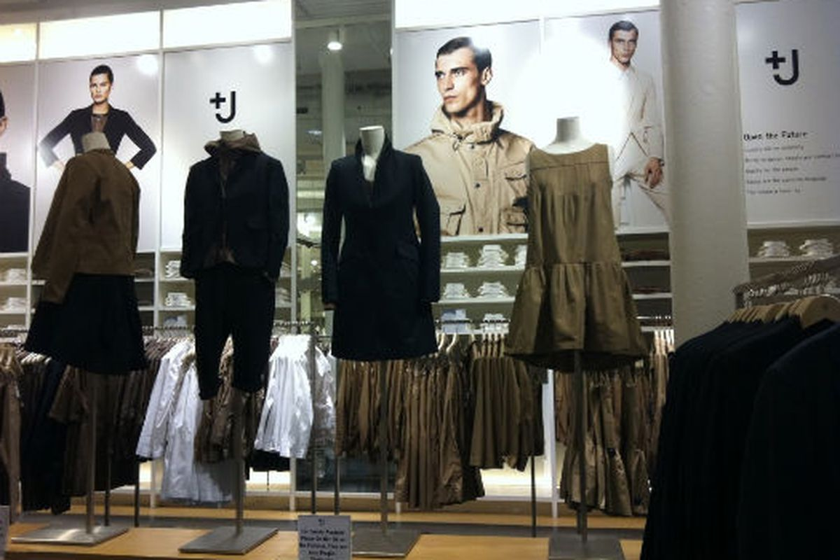 """Image via <a href=""""http://samplesally.com/2011/06/20/reductions-on-jil-sanders-j-collection-at-uniqlo/"""">Sample Sally</a>"""