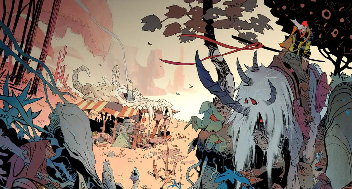 Coda is a post-apocalyptic fantasy adventure that crosses Fury Road with Lord of the Rings