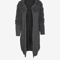 """Harare knit loop wrap, <a href=""""http://swords-smith.com/products/harare-knit-loop-wrap"""">$785</a> at Swords-Smith"""