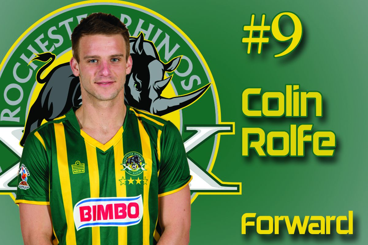 Colin Rolfe scored his sixth league goal of 2015 on Thursday night against Toronto FC II