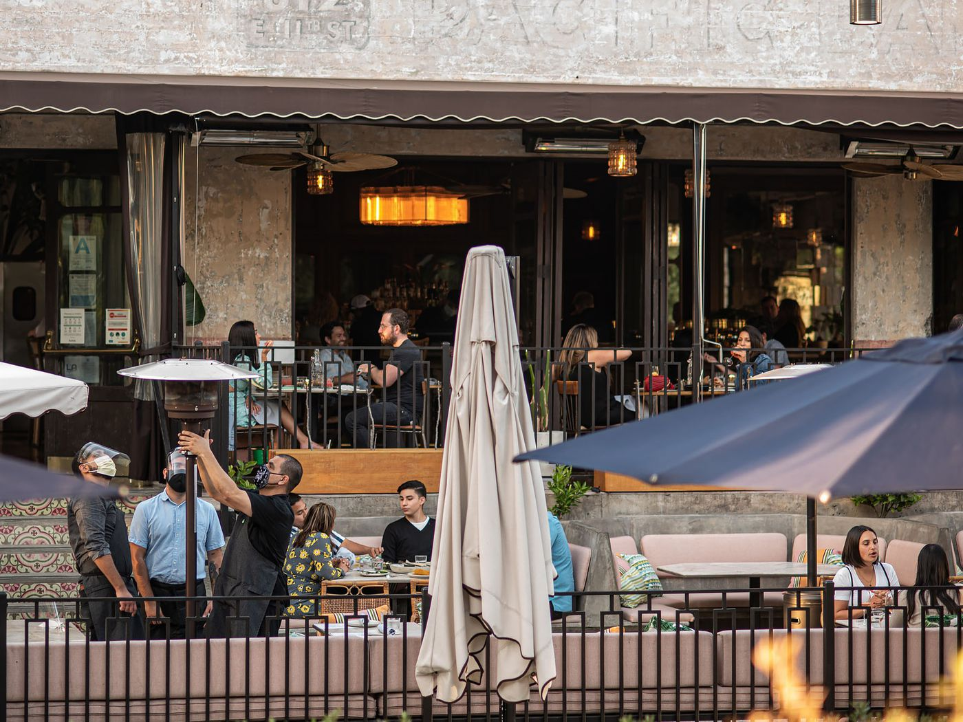 As COVID-19 Surges, LA County Shuts Down All Outdoor Restaurant Dining