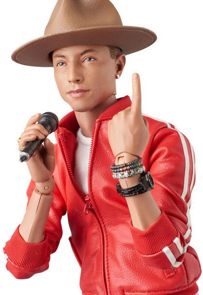 Pharrell Williams new toy action figure by Medicom