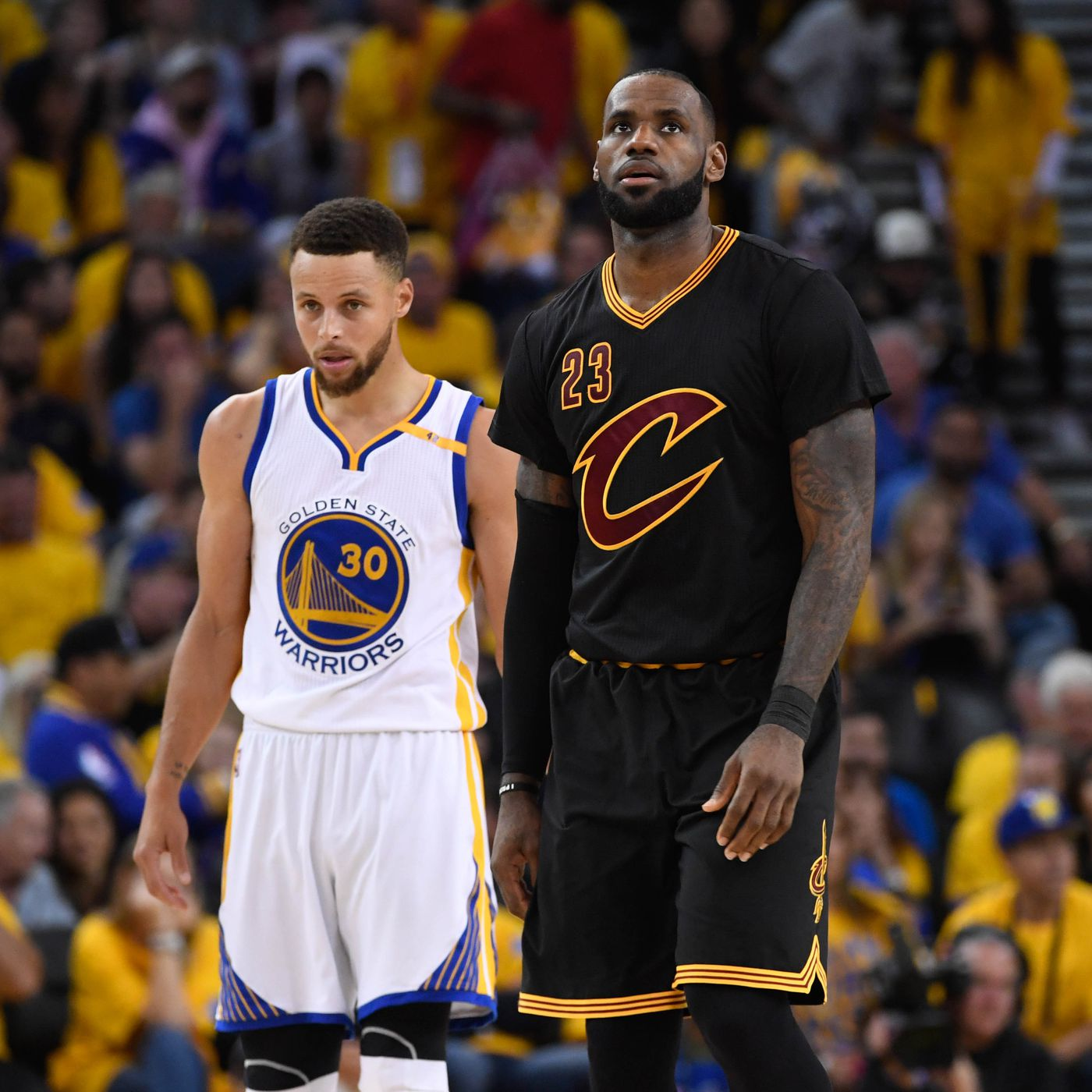 Nba All Star Game Rosters 2018 The Captains Are Lebron James Steph Curry Sbnation Com