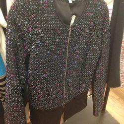Barneys tweed blazer, $71