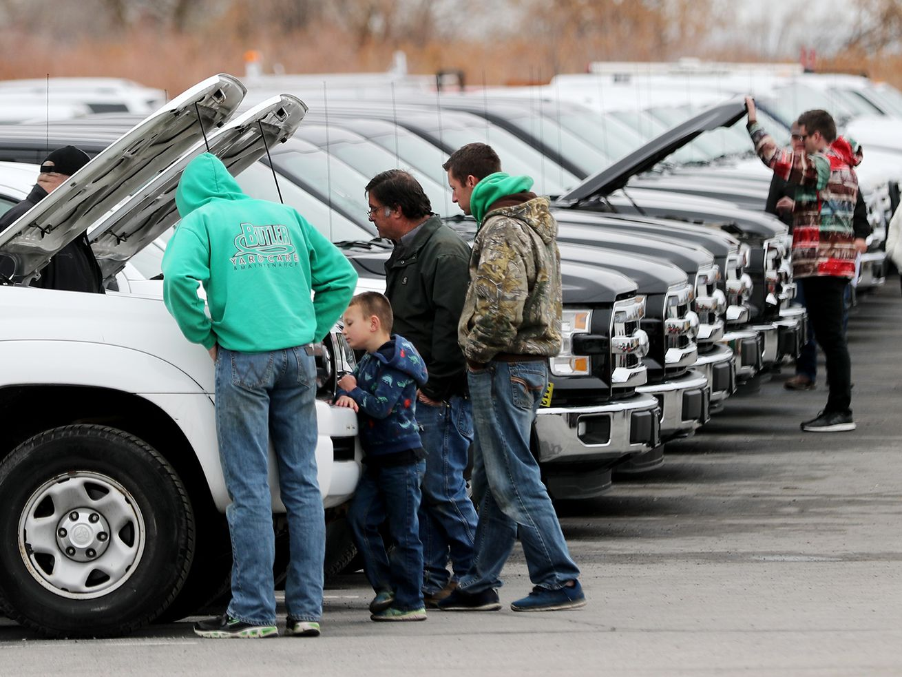 Photos: Kicking the tires — Vehicles from Salt Lake City's fleet set to hit the auction block