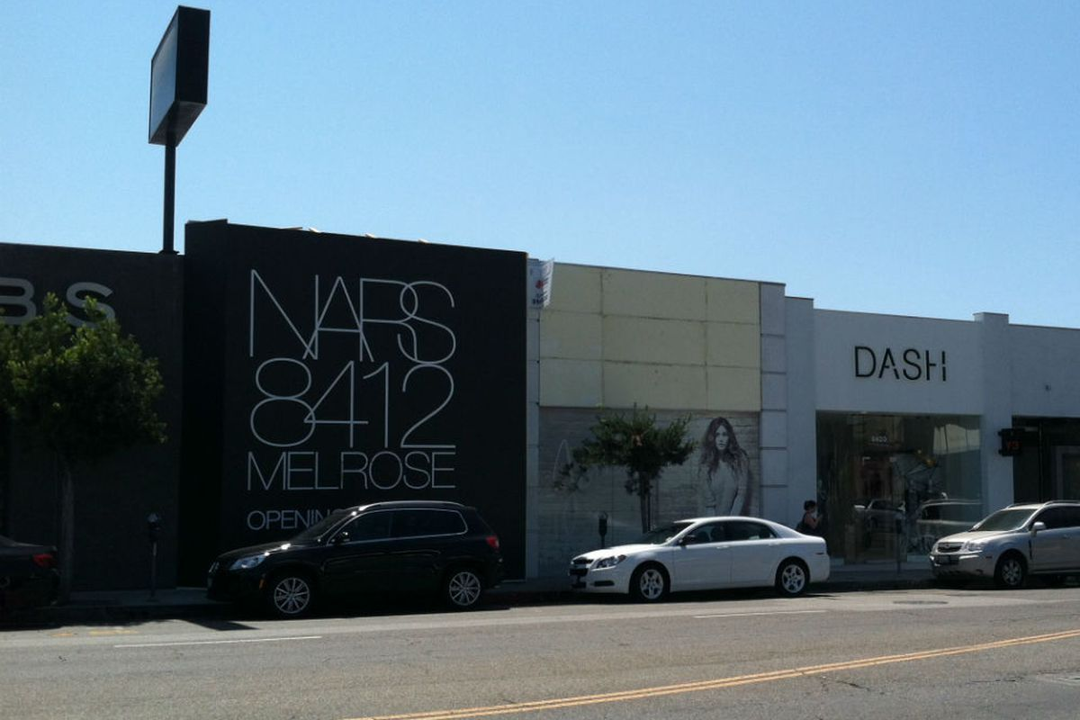 """Checking in on how <a href=""""http://la.racked.com/archives/2012/05/24/nars_cosmetics_opening_an_la_flagship_on_melrose_ave.php"""">NARS</a> and <a href=""""http://la.racked.com/archives/2012/06/20/joie_to_open_its_first_la_boutique_on_melrose_avenue.php"""">J"""