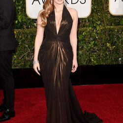Jessica Chastain in Atelier Versace.