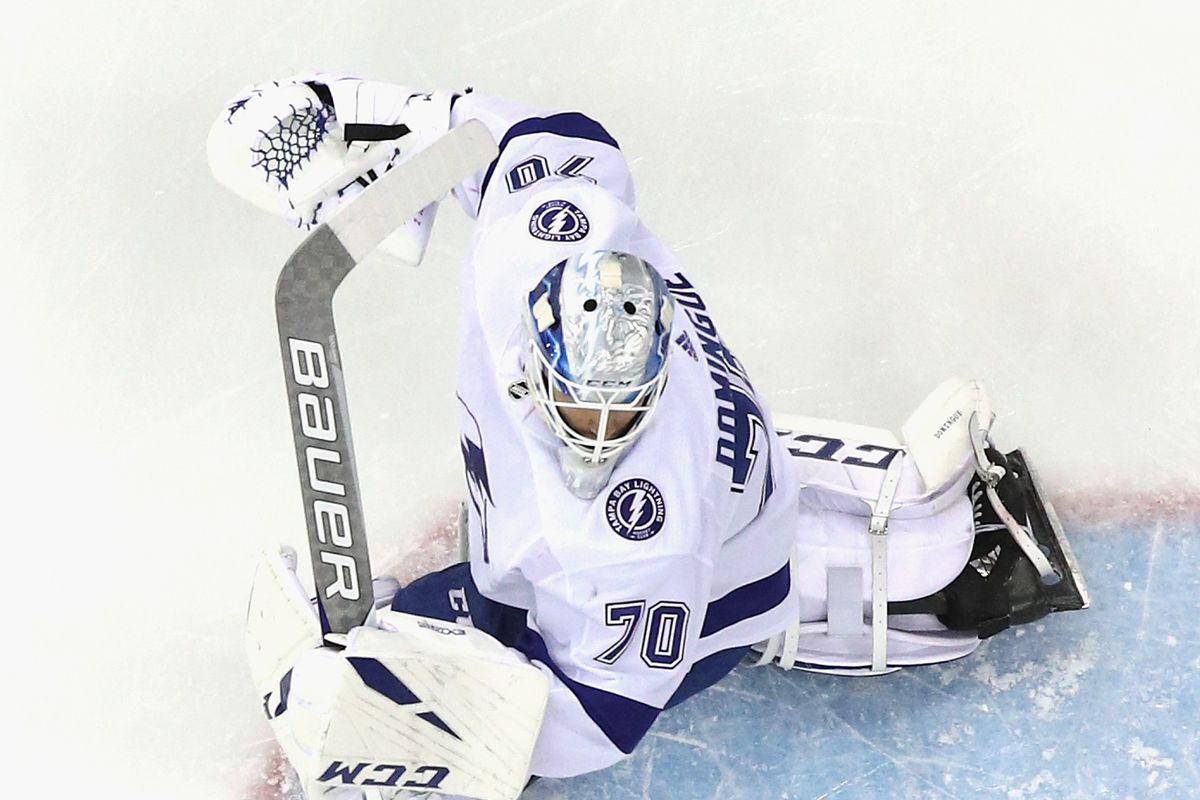 Quick Strikes Lightning Goalies Up For Nhl Fan Choice Awards Raw