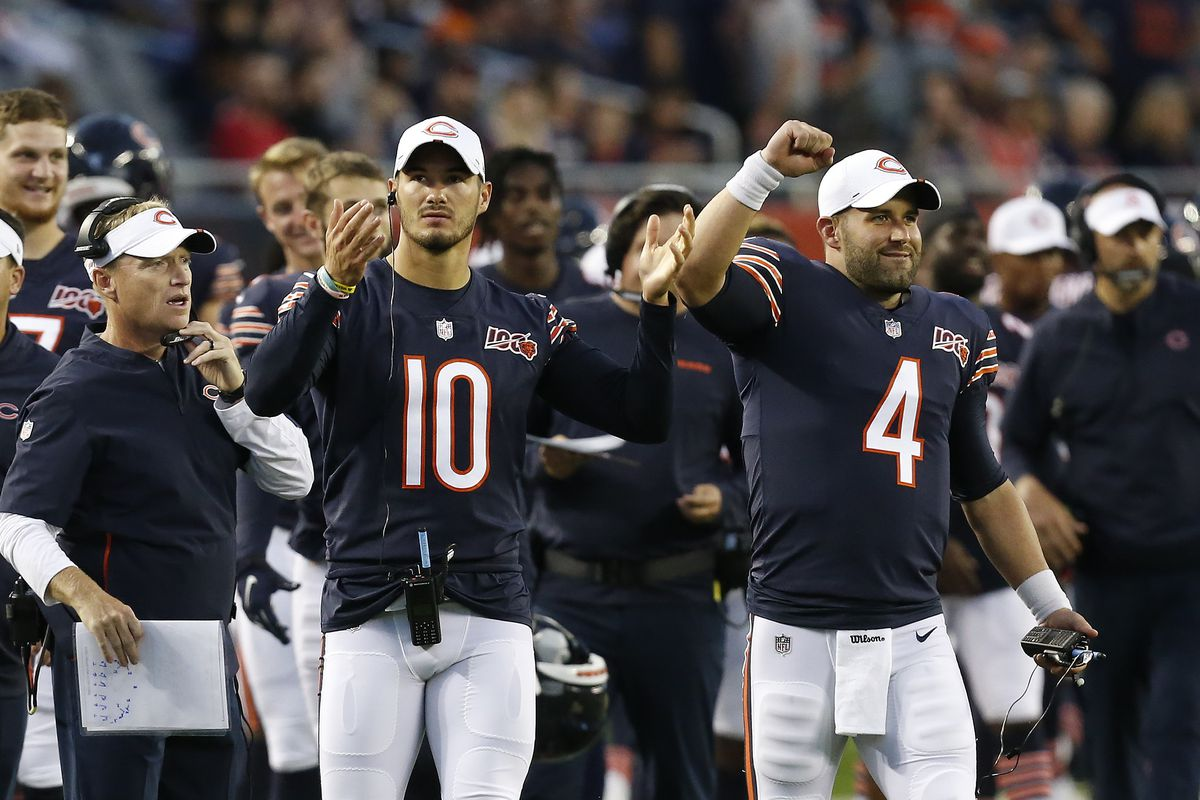 Chicago Bears QB Mitch Trubisky back at practice, but uncertain for Saints game