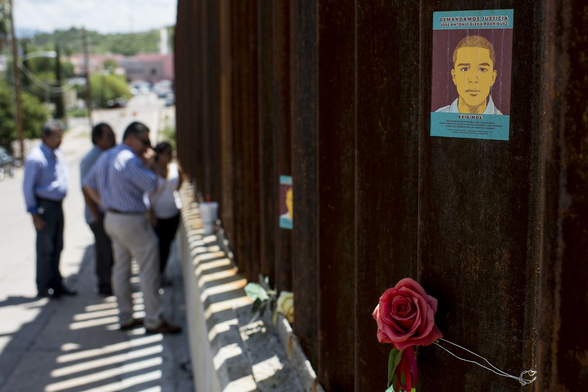 Border Patrol is hoping to avoid more memorials like this.