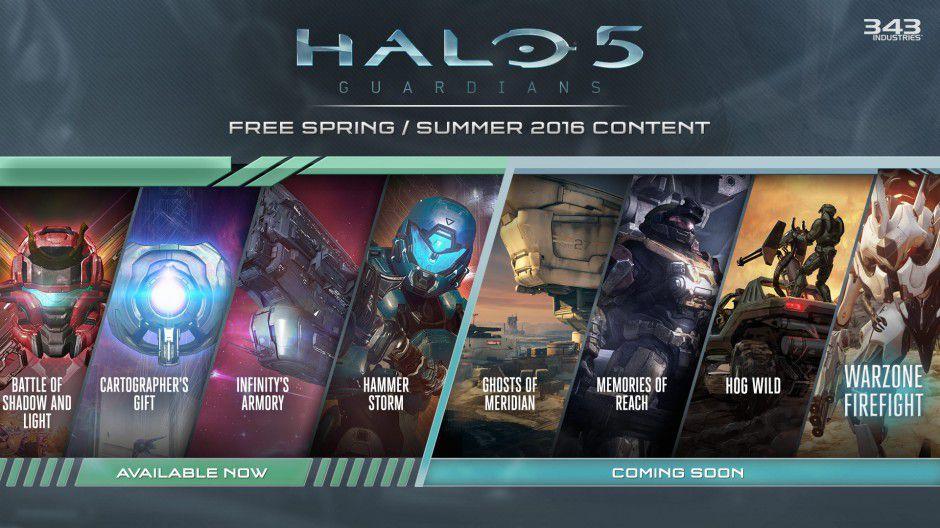 halo 5 update schedule