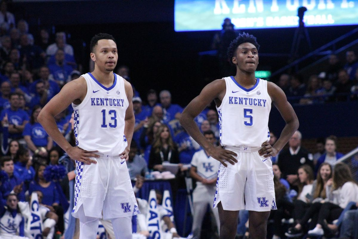 Kentucky Wildcats Tv Men S Basketball Blue White: NCAA Bracketology Roundup: The Latest Projections For