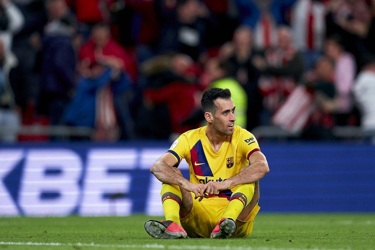 Athletic Bilbao v FC Barcelona - Copa del Rey: Quarter Final