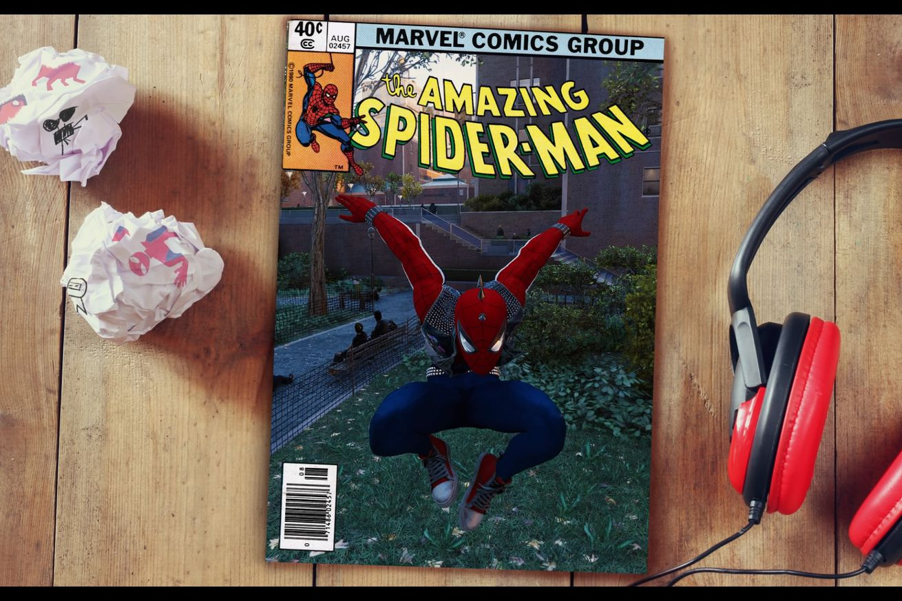 spider man on ps4 has an amazing and hilarious photo mode