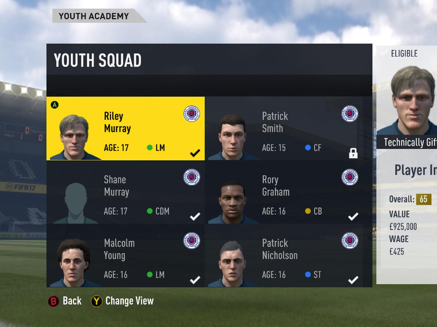Fifa 17 Career Mode Best Buys