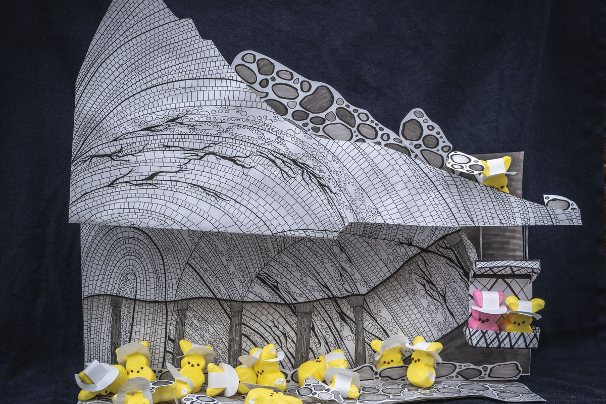 The first science-themed DIY Peep diorama contest is open