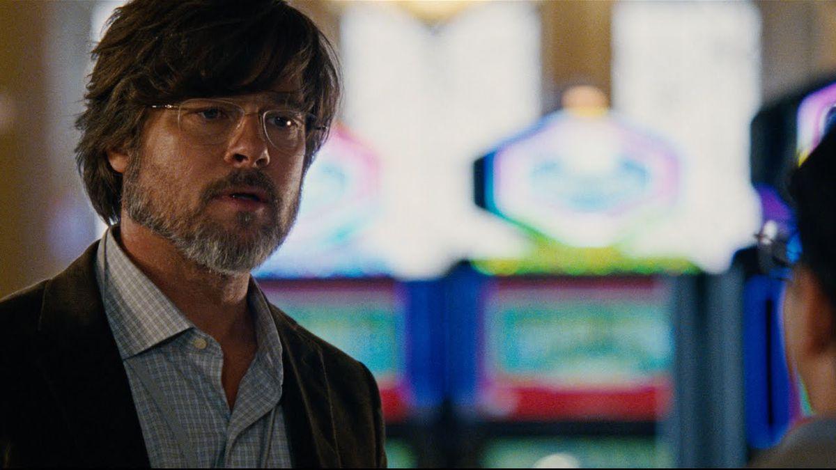 Brad Pitt in The Big Short.