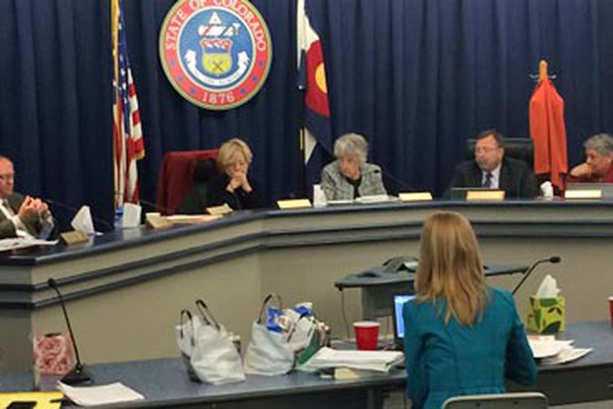 State Board of Education meeting on Feb. 19. 2015.