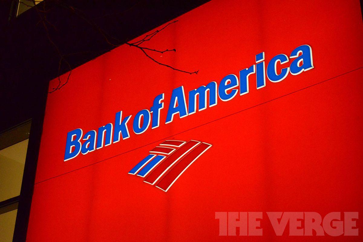 Bank of America stock logo (1020)