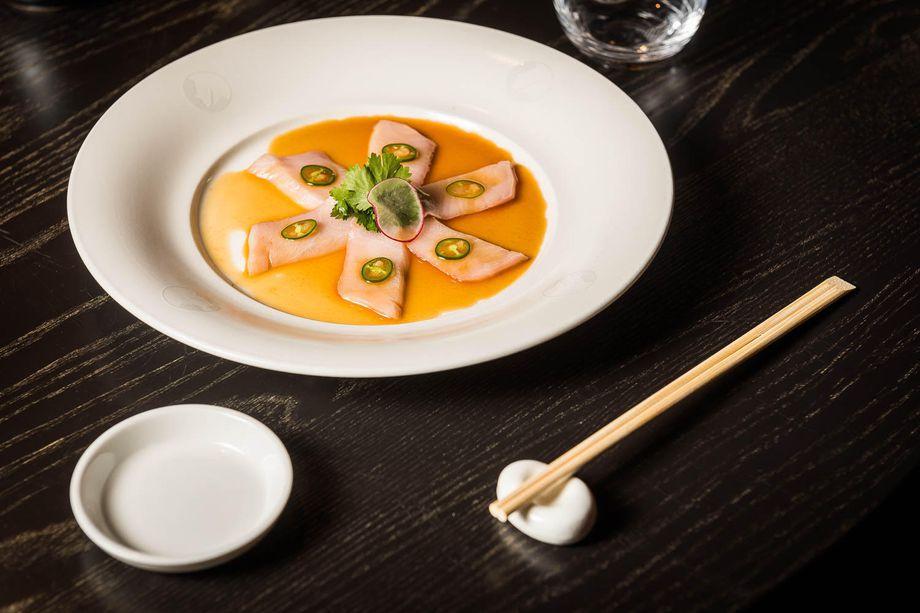 Nobu DC sashimi