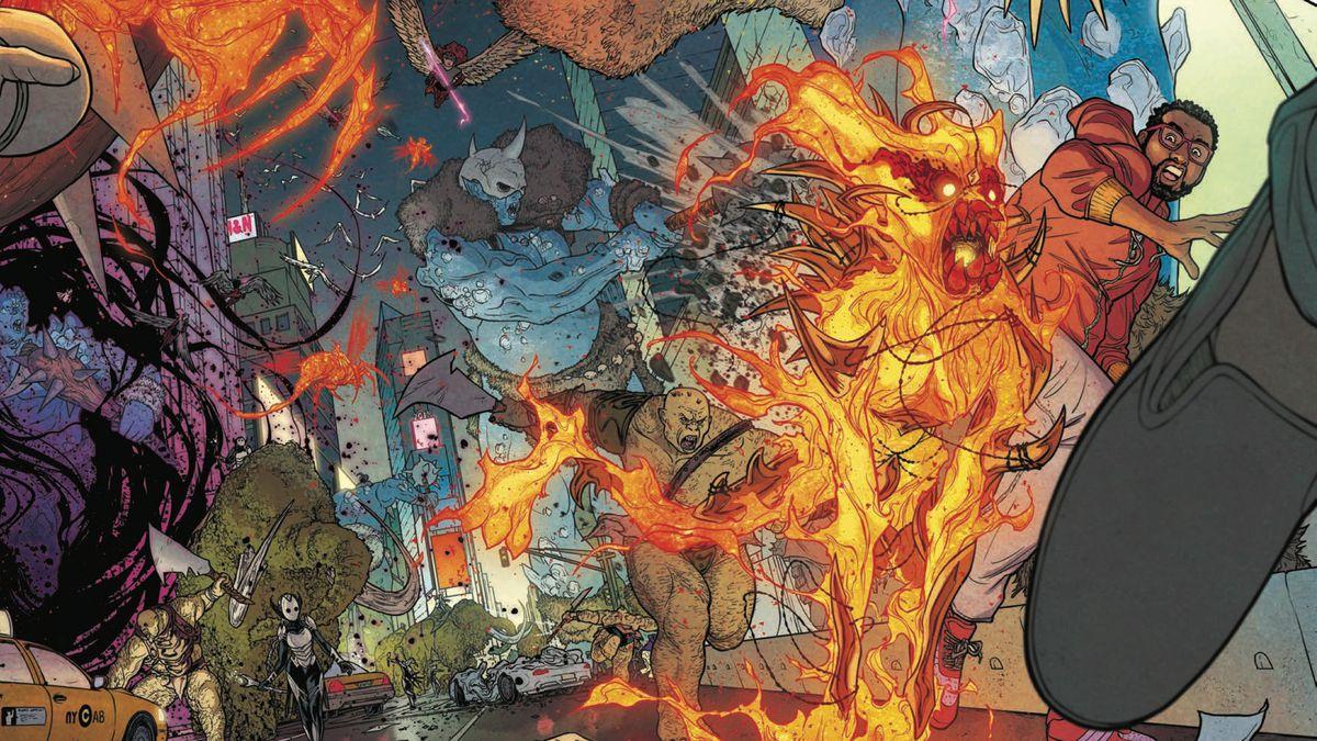 War of the Realms #1, Marvel Comics (2019).