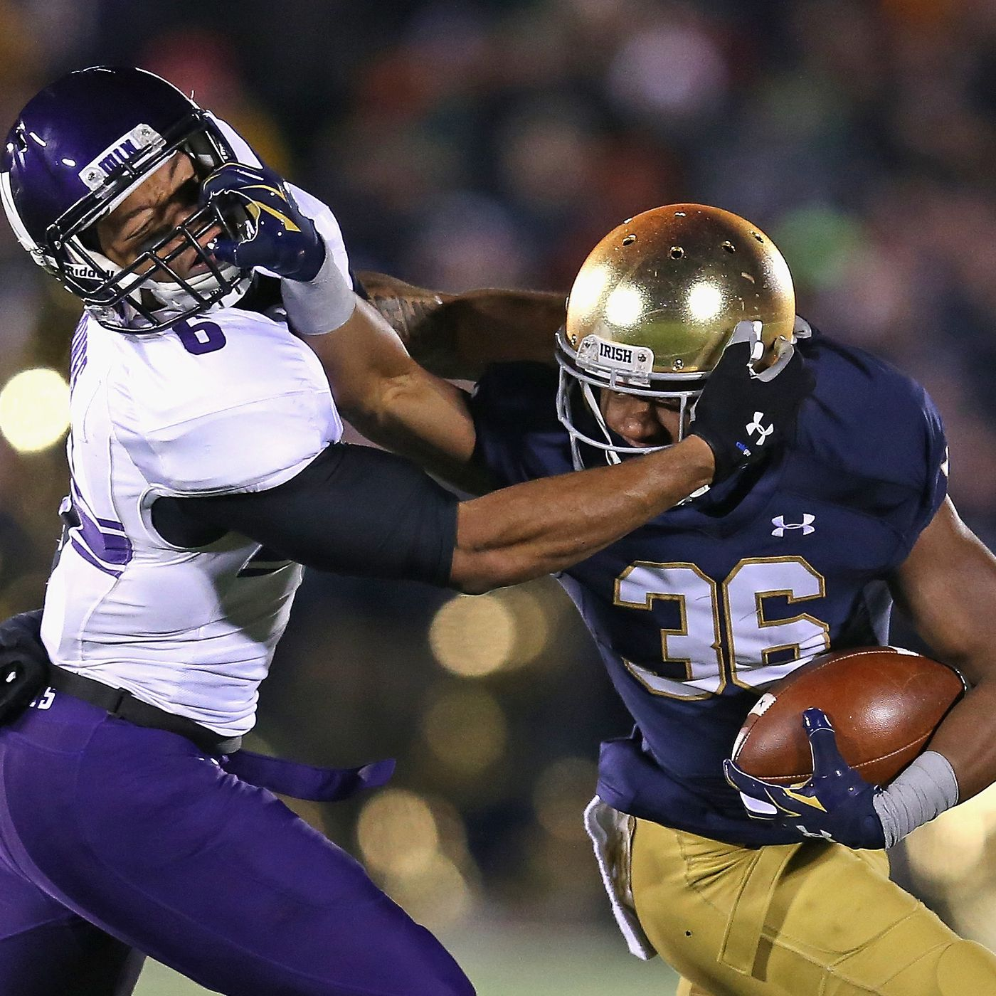Throwback Thursday Northwestern And Notre Dame S 129 Year