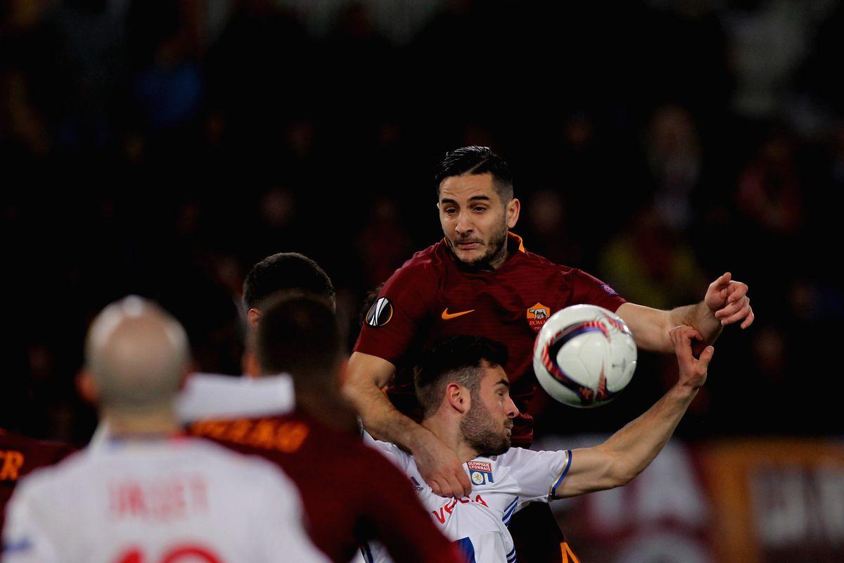 AS Roma v Olympique Lyonnais - UEFA Europa League Round of 16: Second Leg