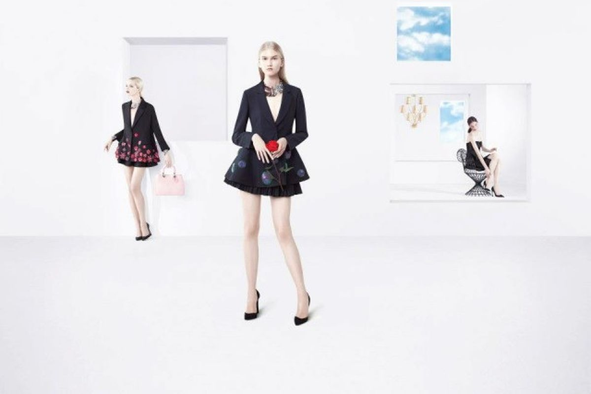 """Dior's Spring 2013 ads, via <a href=""""http://forums.thefashionspot.com/f79/christian-dior-s-s-2013-willy-vanderperre-201729-4.html"""">The Fashion Spot</a>"""