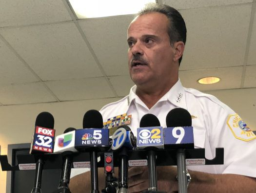 Chicago Police First Deputy Supt. Anthony Riccio | Mitchell Armentrout/Sun-Times