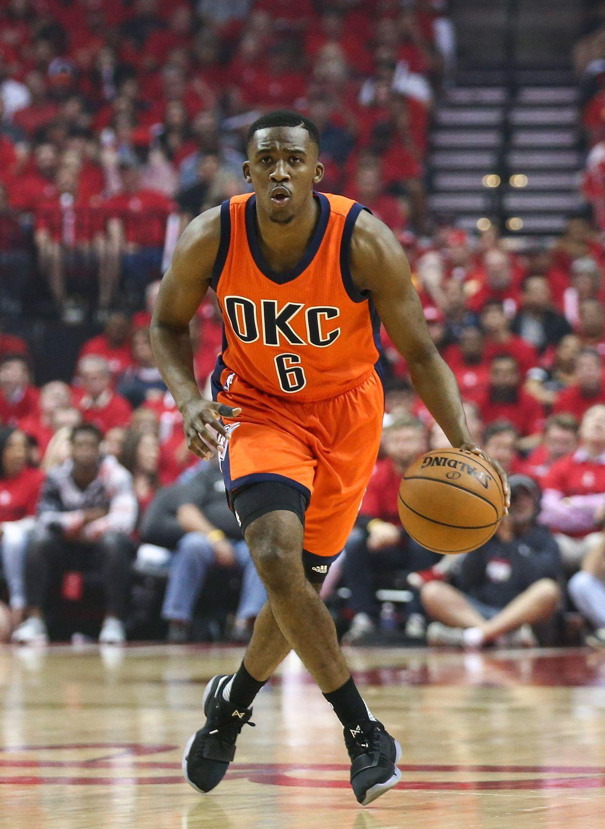 NBA: Playoffs-Oklahoma City Thunder at Houston Rockets