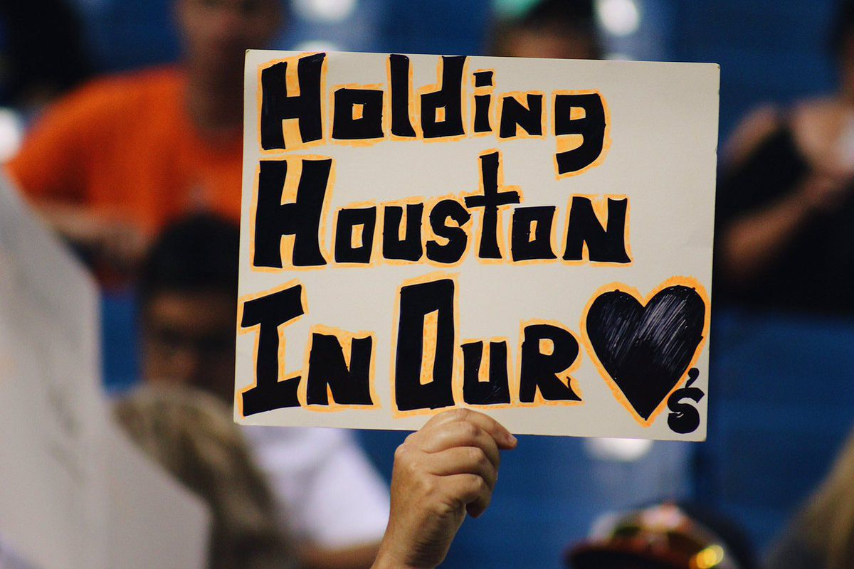 Hurricane Harvey forces Houston Astros to move games