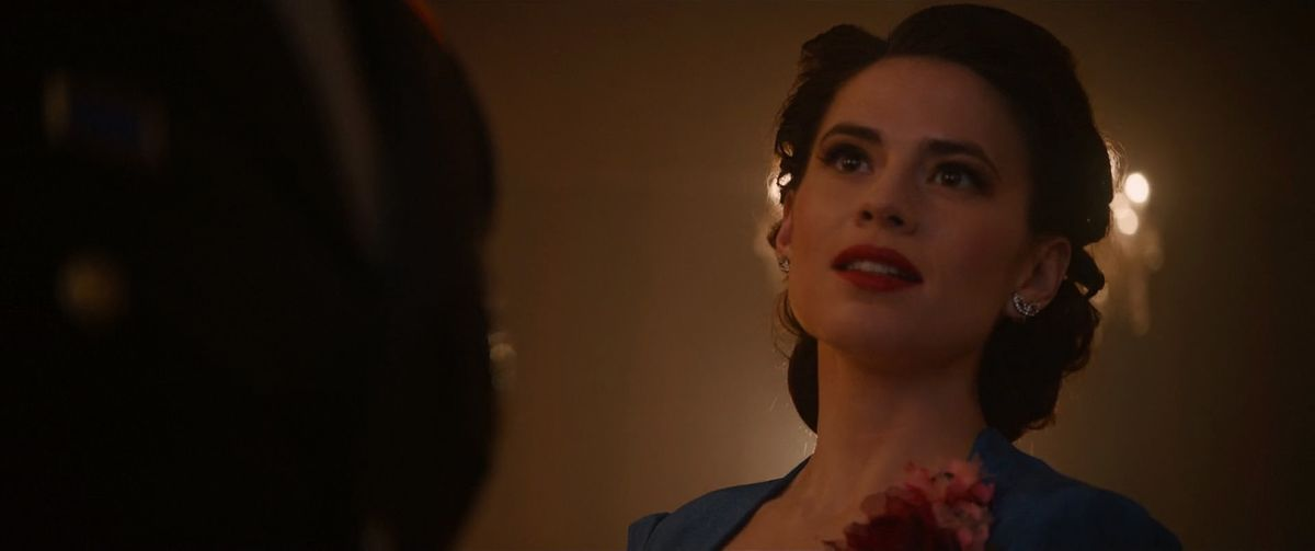 Peggy Carter in Avengers: Age of Ultron, 2015.