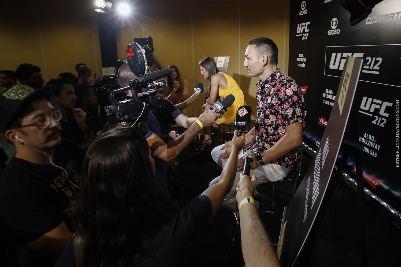 community news, At UFC 212 we might just find ourselves realizing…The Cult of Max Holloway