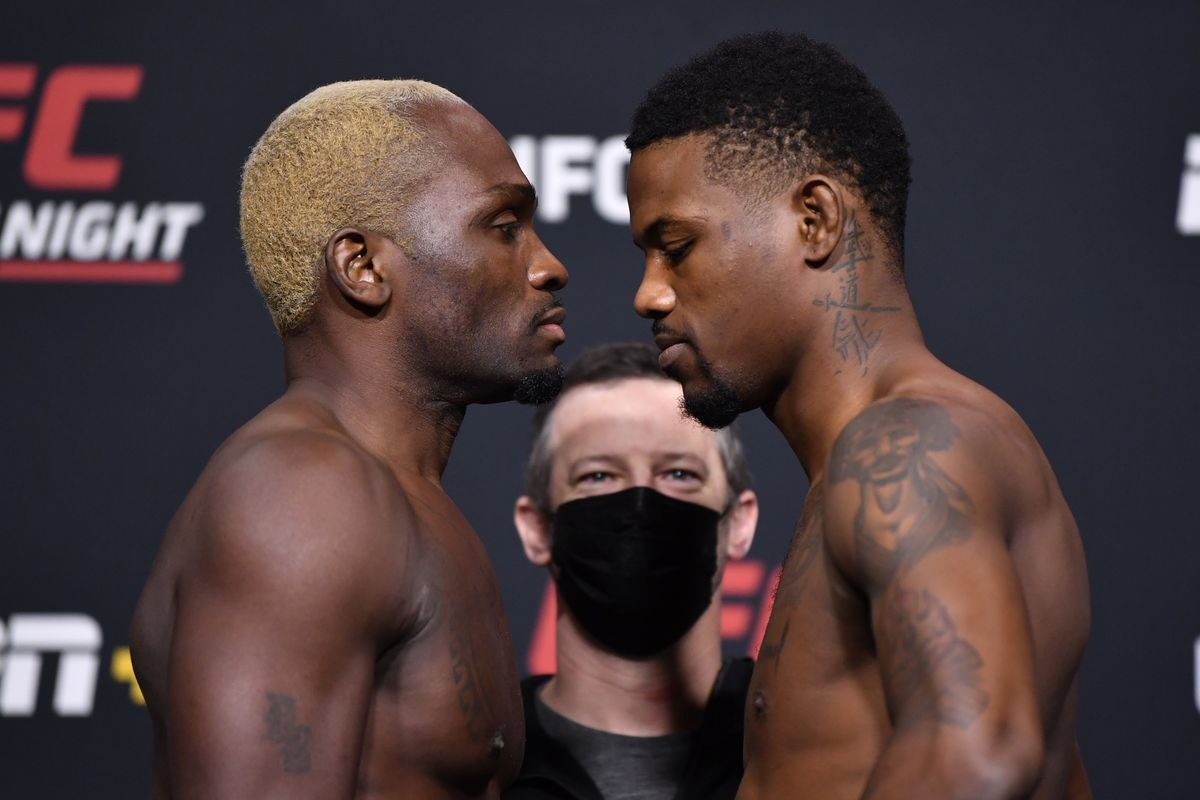 UFC Fight Night: Brunson v Holland Weigh-in