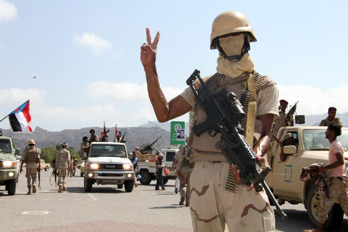 Yemeni soldier