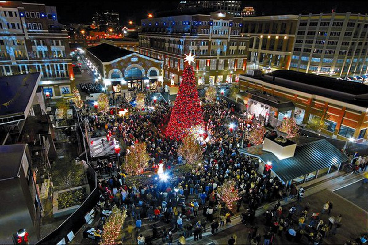 Christmas in Atlantic Station — a more recent celebration in the city.