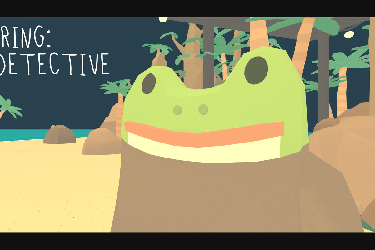 The Haunted Island is a farcical detective game about a frog - The Verge