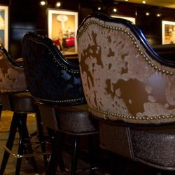 Bar stools at Sierra Gold.