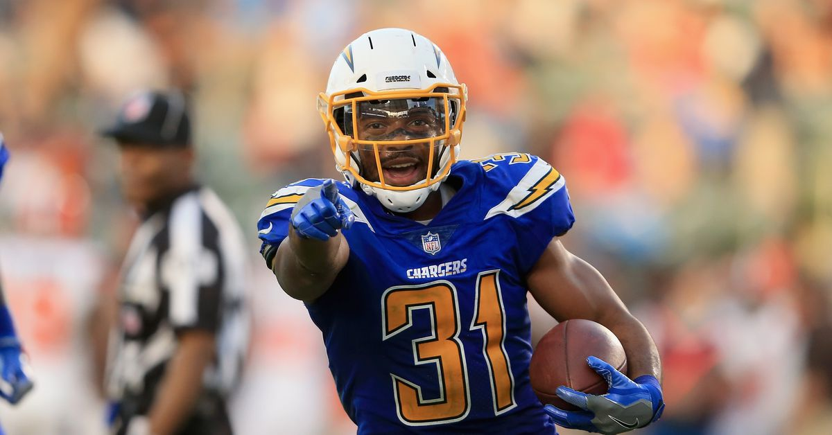 Chargers Inactives Vs Raiders Melvin Gordon Will Play