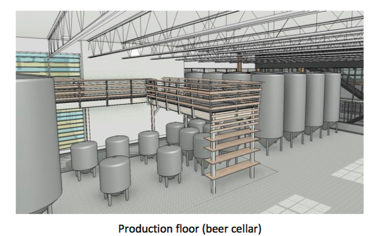 Images how beltline s eastside trail brewery could look for Apartments near mercedes benz stadium
