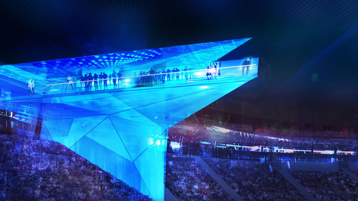 introducing the stadium of the future where technology is king curbed