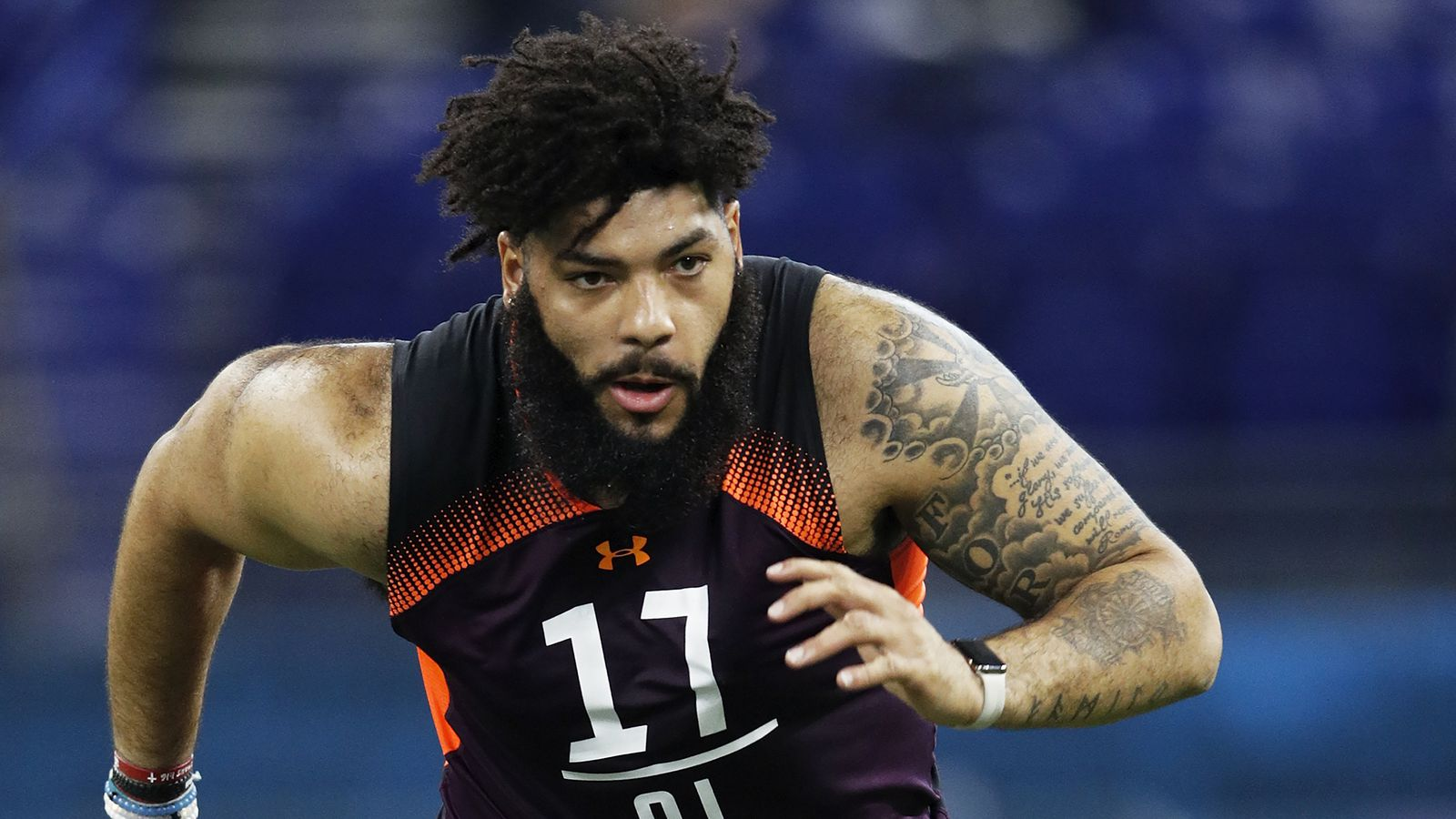 Cody Ford fits Buffalo Bills offensive line measurables, but where do they see him?