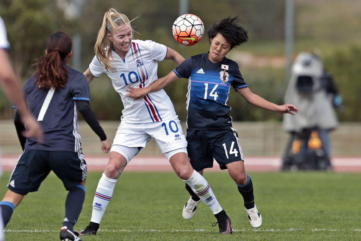 Japan v Iceland - Women's Algarve Cup
