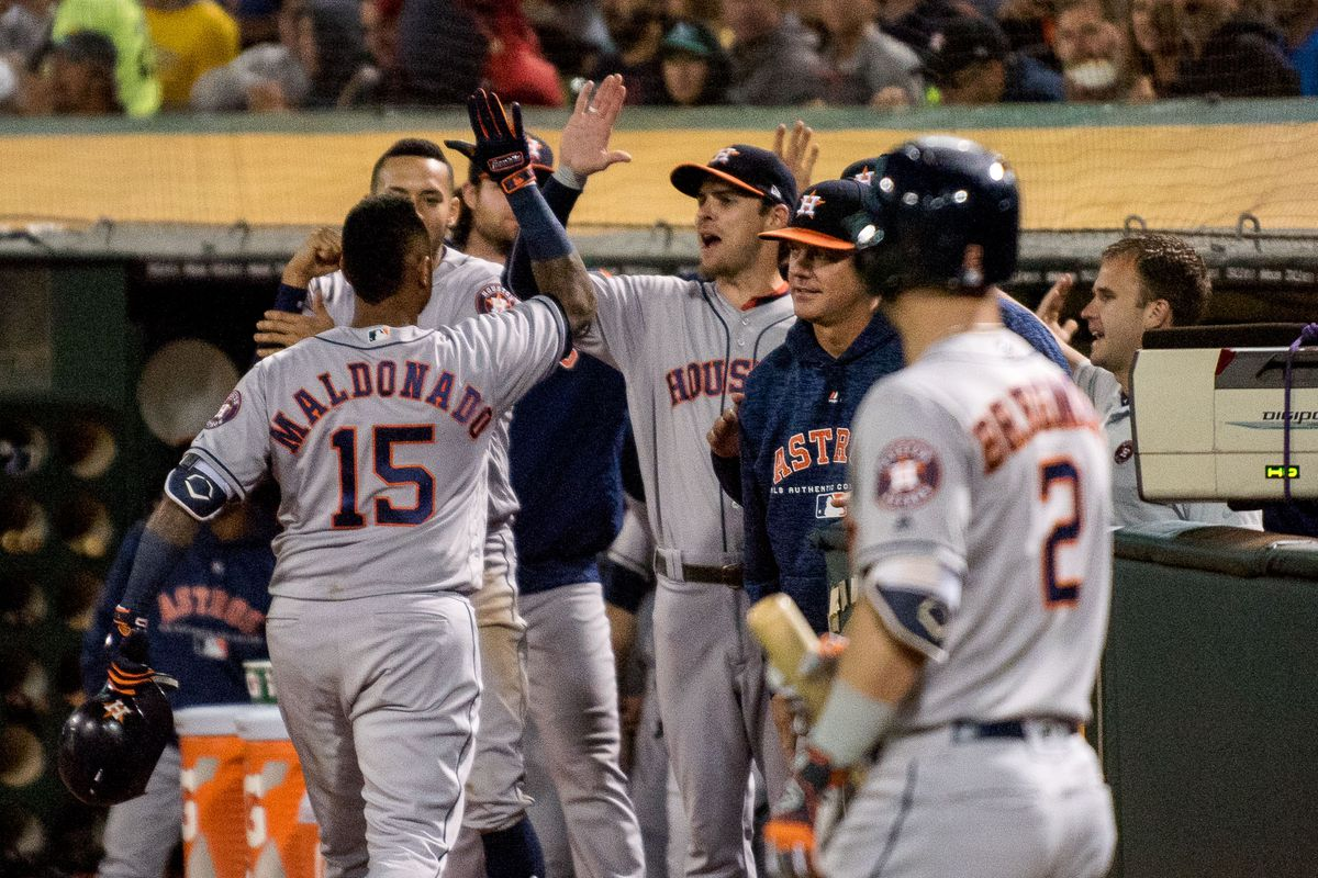 huge selection of c6c35 e47be Game Thread No.122: Houston Astros at Oakland A's, August 18 ...