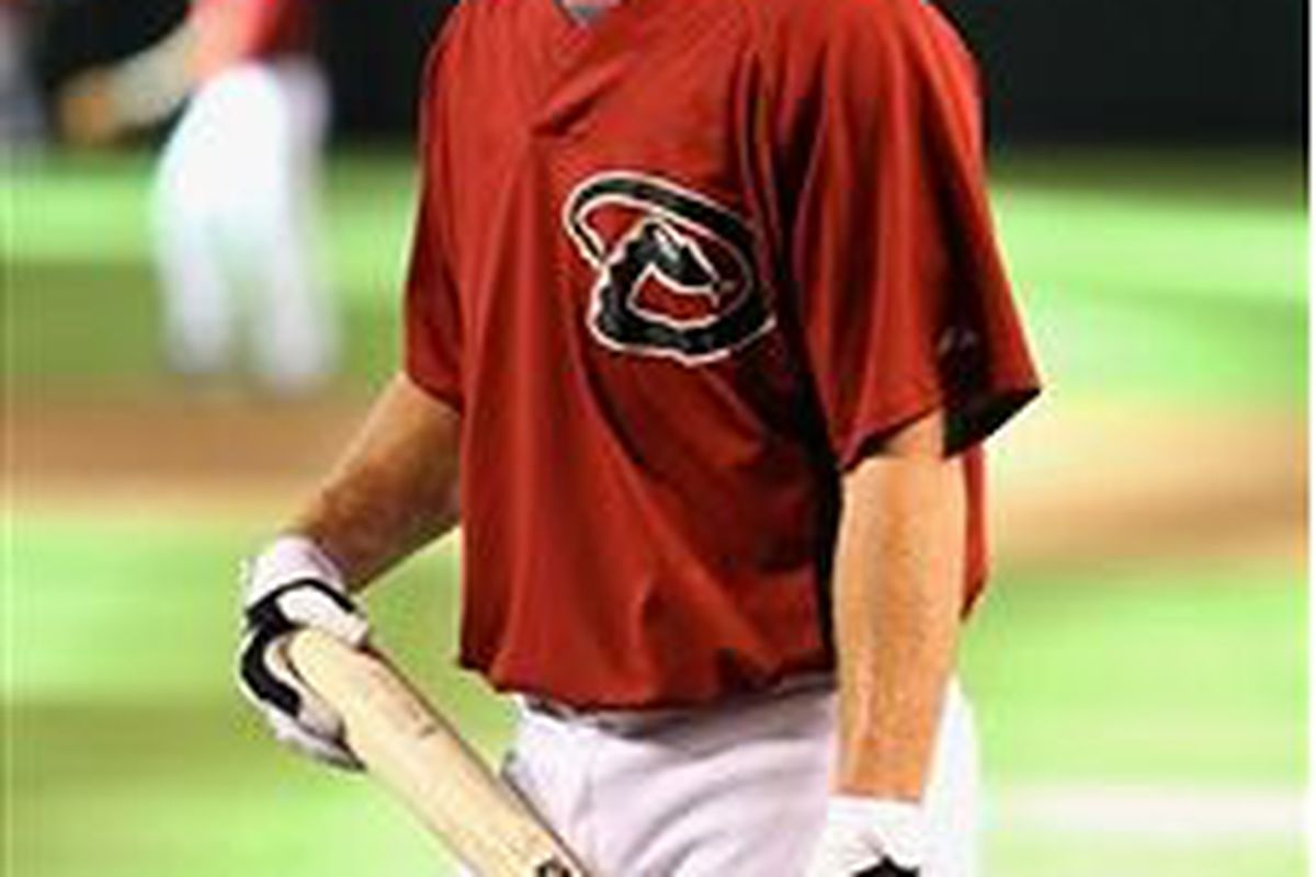 Bobby Borchering, shortly after signing with the Arizona Diamondbacks in August, 2009 (Photo by Christian Petersen, Getty Images)