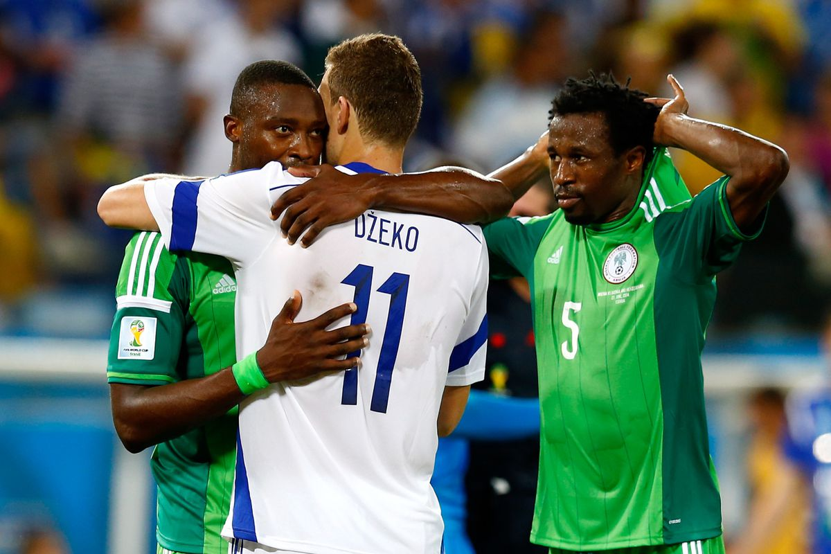 Shola didn't see the pitch, but Nigeria's off to the Round of 16.